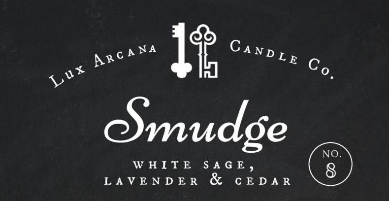 Smudge No.8 - Lux Arcana Candle Co.
