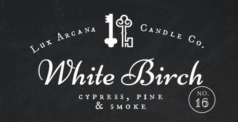 White Birch No.16 - Lux Arcana Candle Co.