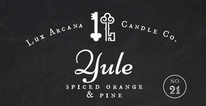 Yule No.21 - Lux Arcana Candle Co.