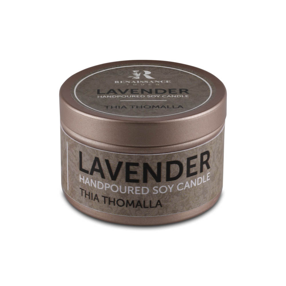 Lavender (Hand Poured Soy Candles) - Small Tin Can