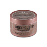 Deep Sleep Lemon Lavender (Hand Poured Soy Candles) - Small Tin Can