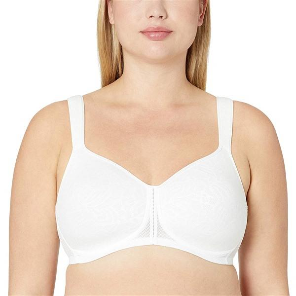NEW Wacoal 36DD Awareness Wire Free Lightweight Spacer Bra 856367 White #65937