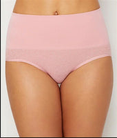 NEW Yummie Tummie S/M Seamless Shaping Briefs YT5-158 Blush #66222