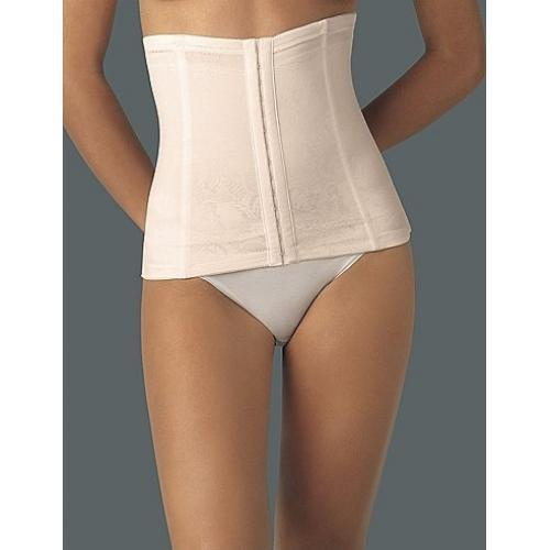NEw Flexees MD Ivory Instant Slimmer Long Torso Waist Nipper 6868 #69026