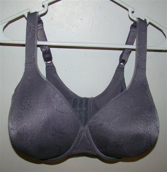 NEW Vanity Fair 40D Gray Beauty Back Full Coverage Underwire Bra 75345 #72262