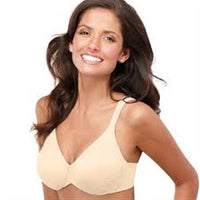 NWT Bali 38D Live It Up Underwire Bra 3353 Beige #75934