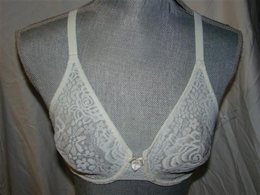 NEW Wacoal Halo Lace Molded 851205 Underwire 34DDD Bra Ivory #76768