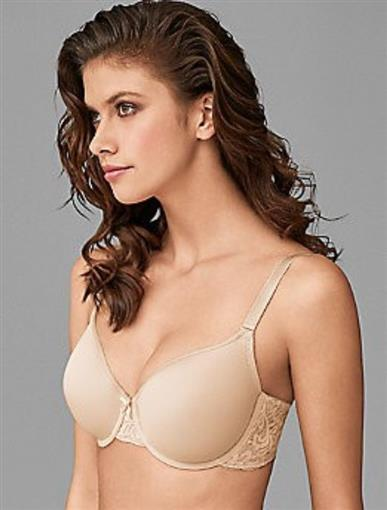 NEW Wacoal 38D All Dressed Up Contour T-Shirt Bra 853166 Beige #77389