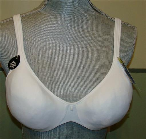 NWOTD Bali 36C Passion for Comfort Underwire Bra 3383 White #77526