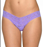 NEW Hanky Panky 6pr Signature Lace Low Rise Thong Underwear 77571