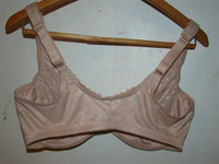 NEW Glamorise Wonderwire Front Close Bra 9245 Beige 34F #79165