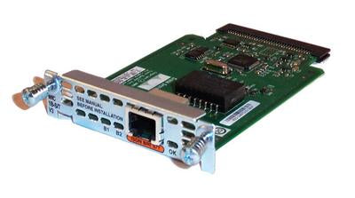Cisco 1-Port ISDN BRI WAN Interface Card (WIC-1B-S/T-V3)