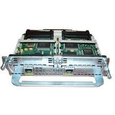 Cisco 2-Port 10/100 Ethernet w/ 2 WAN Card Slot Network Module v2 (NM-2FE2W-V2)