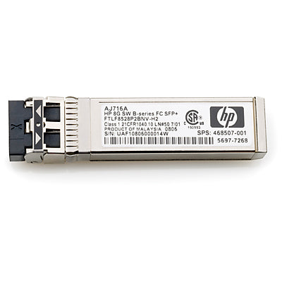 HP MSA 2040 8Gb Short Wave Fibre Channel SFP+ 4-Pack Transceiver