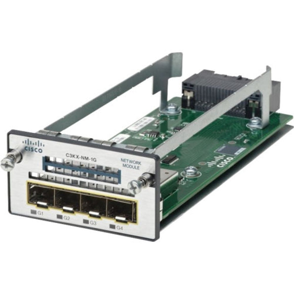Cisco 1G Network Module for 3560x and 3750X (C3KX-NM-1G)