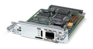 Cisco 1-Port Multiflex T1/E1 Trunk Voice / WAN Interface Card (VWIC2-1MFT-T1/E1)