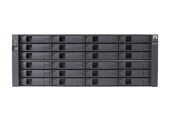 NetApp DS4246 Disk Shelf, 24-Bay SAS/SATA, 4U, 6gbps, 2xIOM6, 4xAC PS (DS4246)