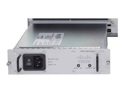 Cisco 4900M DC Power Supply, 1000W (PWR-C49M-1000DC)