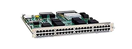 C6800-48P-TX Cisco Catalyst 6800 48-port 1GE copper module with integrated DFC4