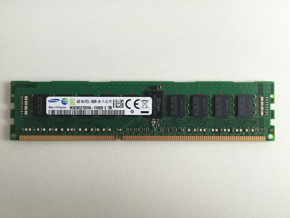 HP 4GB (1x4GB) Single Rank x4 PC3L-10600R (DDR3-1333) Registered CAS-9 Low Voltage Memory Kit (664688-001)