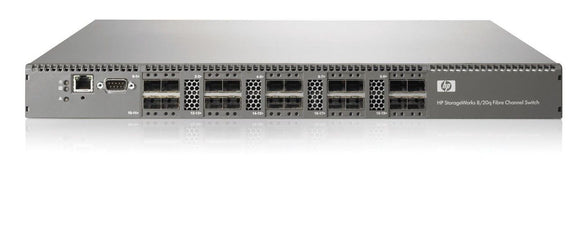HP 8/20q Fibre Channel Switch/Smart-Buy (AK242SB)