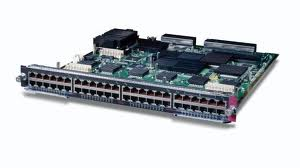 Cisco Catalyst 6500 Switch Module 48 Port 10/100/1000 Fabric Enabled (WS-X6548-GE-TX)