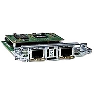 Cisco 2-Port Multiflex T1/E1 Interface Card (VWIC3-2MFT-T1/E1)