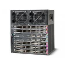 Cisco Catalyst 4500 10-Slot Chassis with Fan - No Power Supply (WS-C4510R)