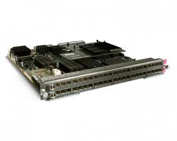 Cisco Catalyst 6700 48 Port Mixed Media GE Interface Module Req. SFP (WS-X6748-SFP)