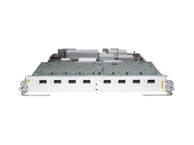 Cisco 8-Port 10GE Low Queue Line Card, Requires XFPs (A9K-8T-L )
