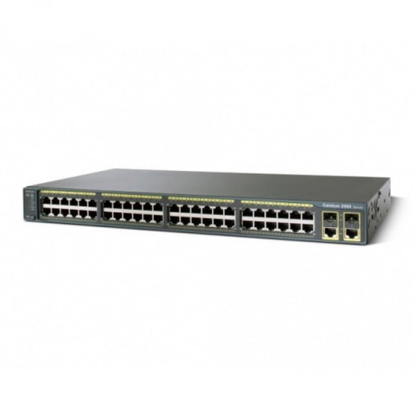 Cisco Catalyst 2960S Stack 48 GigE, 4 x SFP LAN Base (WS-C2960S-48TS-L)