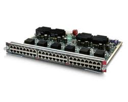 Cisco Catalyst 4500 PoE Switch Module with 802.3af (WS-X4548-GB-RJ45V)