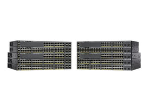 Cisco Catalyst 2960-X 24 GigE PoE 370W, 4 x 1G SFP, LAN Base (WS-C2960X-24PS-L )