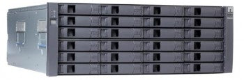 NetApp DS4243 Disk Shelf with 24x450gb 15k SAS disk drives, 2xIOM3, 4xAC PS, RM KIT (DS4243-1511-24S-R5-C)