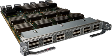 N77-M324FQ-25L Cisco Nexus 7700 M3-Series 24-Port 40G Ethernet Module