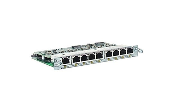 Cisco 9-Port Double-Wide 10/100BASET Ethernet Switch HWIC (HWIC-D-9ESW)