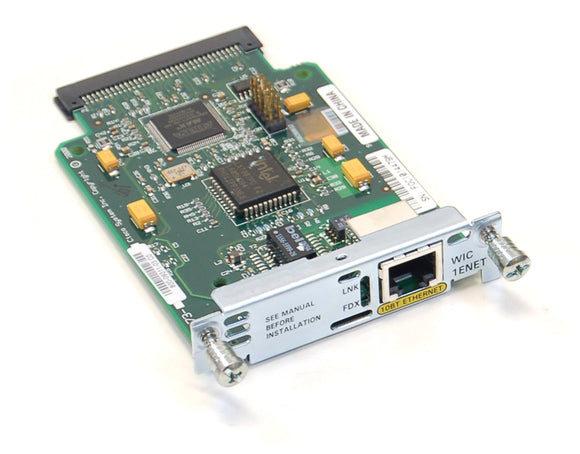 Cisco 1-Port Ethernet WAN Interface Card (WIC-1ENET)