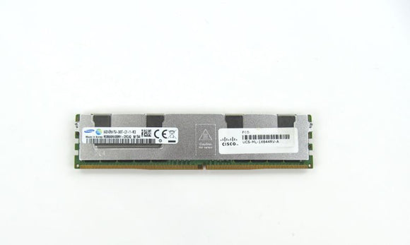 UCS-ML-1X644RV-A Cisco 64GB (1x64GB) DDR4 SDRAM DIMM Memory For Server