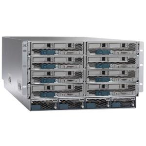 Cisco UCS 5108 Blade Server AC Chassis/0 PSU/8 fans/0 fabric extender (N20-C6508)