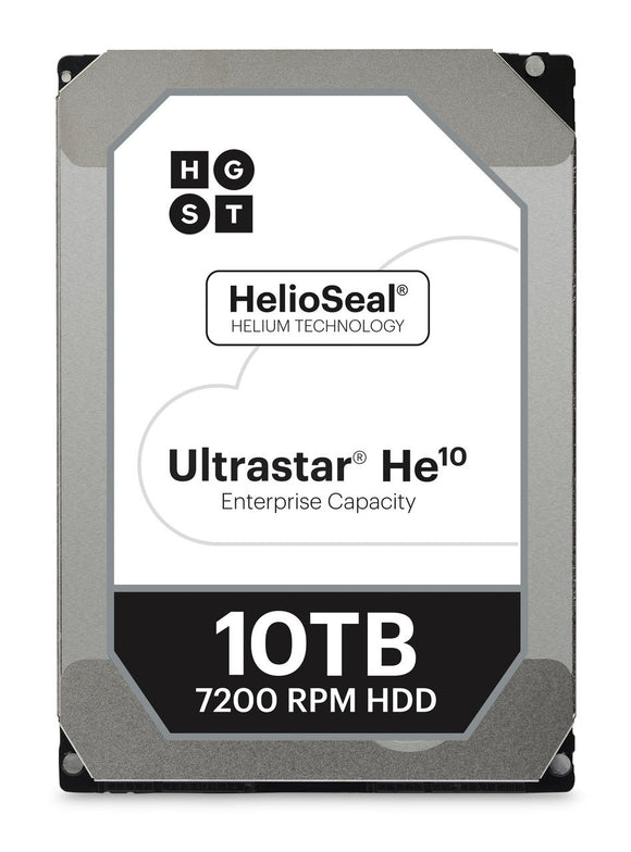 HGST Ultrastar  HUH721008ALE600 He10 8 TB Internal SATA 6Gb/s 256MB HDD ‑ 3.5
