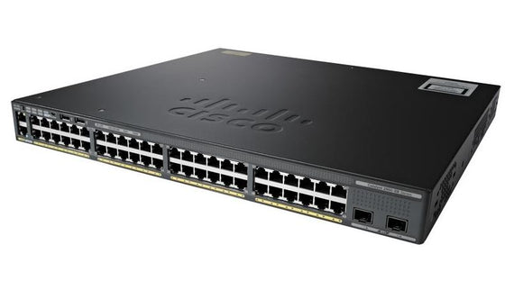 Cisco Catalyst 2960X Managed Switch 48 port 10/100/1000 2 x 10GB SFP+ (WS-C2960X-48TD-L)