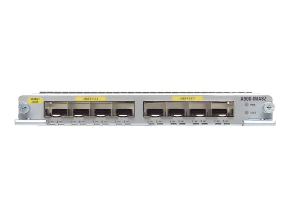 A900-IMA8Z Cisco ASR 900 8-port 10GE SFP+ Interface Module