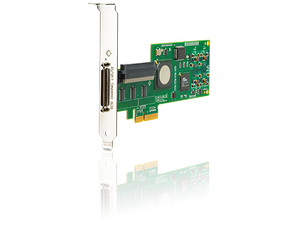 Ultra320 Single Channel/ PCIe x4 SCSI Host Bus Adapter (439946-001)