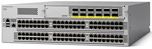 N9K-C93128TX Cisco Nexus 9300 Switch with 96p 1/10GBASE-T & 1x Uplink Module Slot