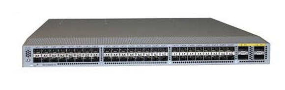 Cisco Nexus 3064-T, 48 x 10GBase-T and 4 QSFP+ ports (N3K-C3064TQ-10T)