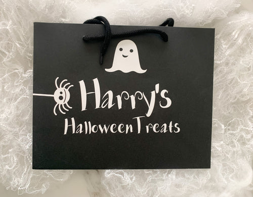 Personalised Halloween Treats Bag