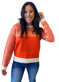 Nima sweater- orange