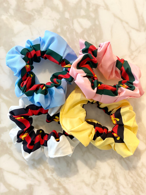Bee assorted hair scrunchies