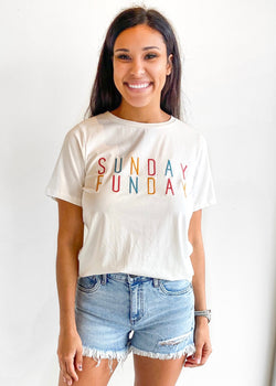 Sunday funday tee