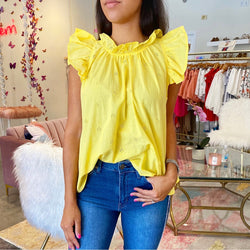 Sweet sunshine top- yellow